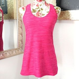 3/$35 JOIA NYC Pink Performance Workout Tank